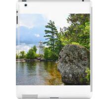 Lakeview Seat iPad Case/Skin