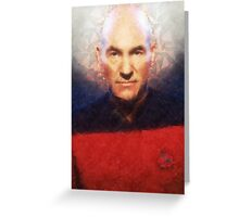 Picard Greeting Card