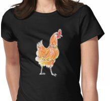 Strolling Womens Fitted T-Shirt