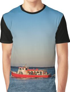 Hampton Lady - Bringing Fishermen Home | Hampton Bays, New York Graphic T-Shirt