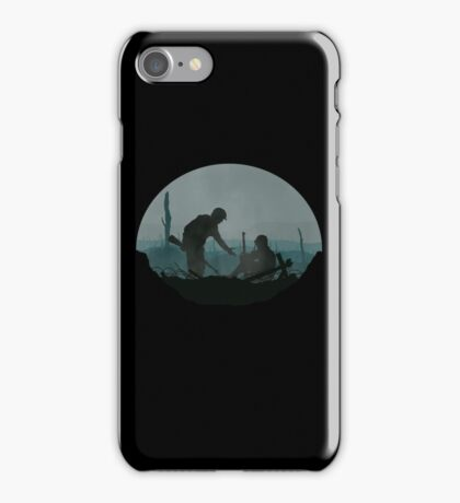'Strength In No Man's Land' Design iPhone Case/Skin