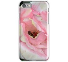 Faded Pink Rose iPhone Case/Skin