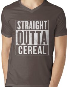 Straight outta cereal lover awesome gift for cereal lovers Mens V-Neck T-Shirt