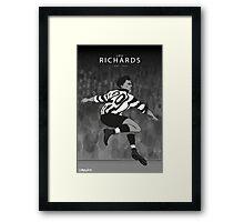 Lou Richards Framed Print
