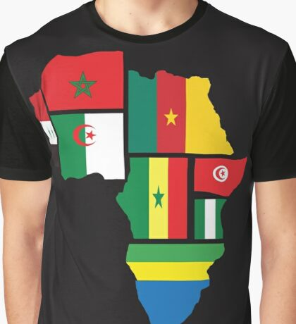 2017 africa cup of nations Graphic T-Shirt
