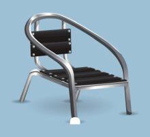 Glitch furniture chair metal coffee chair One Piece - Short Sleeve