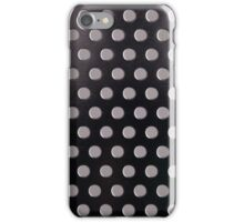 Perforated metal stainless steel iPhone Case/Skin