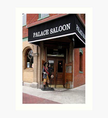 The Palace Saloon Art Print