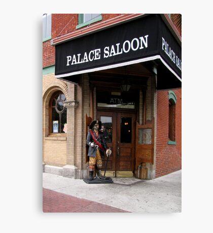 The Palace Saloon Canvas Print