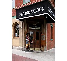 The Palace Saloon Photographic Print