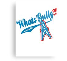 What's Gully??   . .   . ..                  ..OILERS Metal Print