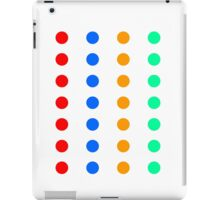 DOTs that look like a party Game iPad Case/Skin