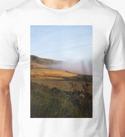 Foggy Coastline Big Sur Unisex T-Shirt