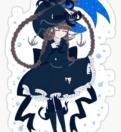 Wadanohara and the Great Blue Sea - The Sea Witch Sticker