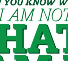 Riddle me this... Sticker