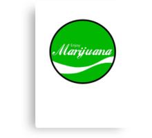 Enjoy Marijuana Canvas Print