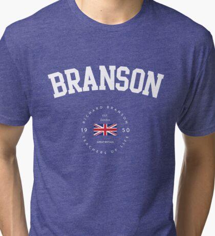 Richard Branson - Teachers of Life Tri-blend T-Shirt