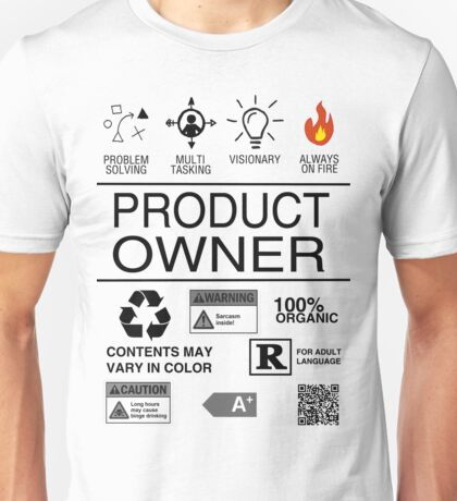 Product Owner Unisex T-Shirt