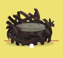 Glitch furniture chair rook nest chair Baby Tee