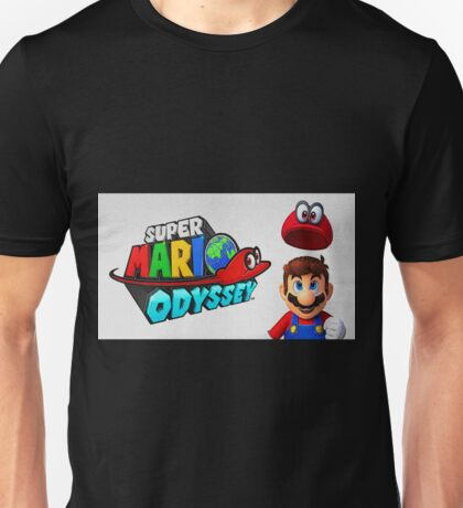Super Mario Odyssey Cover Painting  Unisex T-Shirt