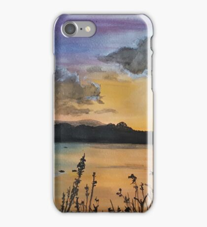Loch Lomond Sunset iPhone Case/Skin