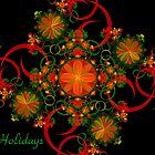 Celebration Holiday Card by Sandy Keeton