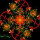 Celebration Holiday Card by Sandy Keeton