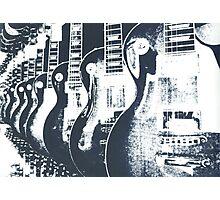 Guitar Shop Screen print Photographic Print