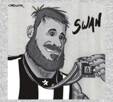 Dane Swan One Piece - Short Sleeve