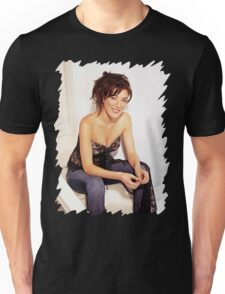 Jaime Murray - Oil Paint Art Unisex T-Shirt