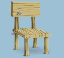 Glitch furniture chair hell chair Kids Tee
