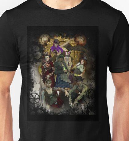 Steampunk Wonderland Unisex T-Shirt