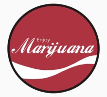 Enjoy Marijuana Red by ColaBoy