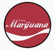 Enjoy Marijuana Red by ColaBoy