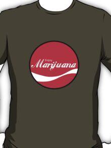 Enjoy Marijuana Red T-Shirt