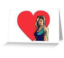 Love GTA Liberty City Women Like Greeting Card