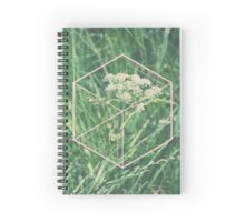 Common green life Spiral Notebook