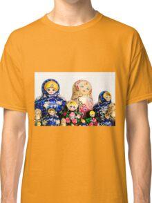 Babushka nesting dolls Classic T-Shirt