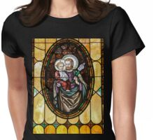 Stained Glass Glory Womens Fitted T-Shirt