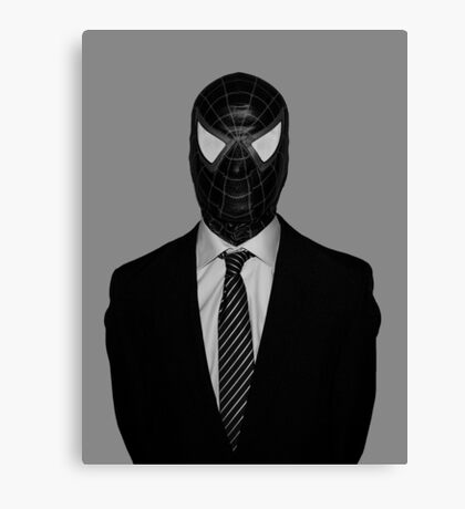 Venom Suit Up Marvel Canvas Print