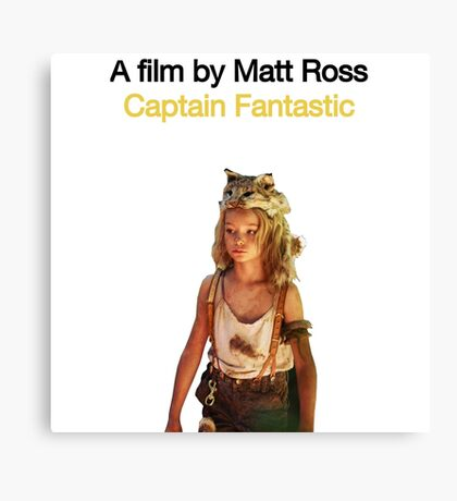 CAPTAIN FANTASTIC // MATT ROSS (2016) Canvas Print