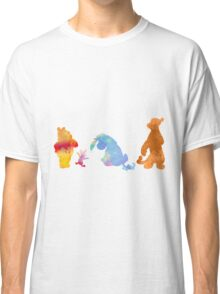 Friends together Inspired Silhouette Classic T-Shirt