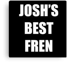 JOSH'S BEST FREN - Twenty One Pilots Canvas Print