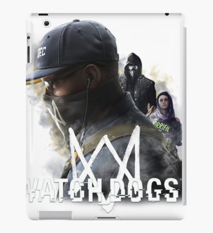 Watch dogs 2 iPad Case/Skin