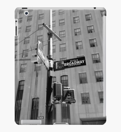"Photography by A.R. Regan: ""Broadway"" iPad Case/Skin"
