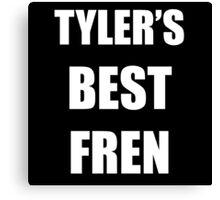 TYLER'S BEST FREN - Twenty One Pilots Canvas Print