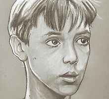 Wil Wheaton drawing Stand by me by RobCrandall