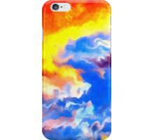 heaven sunset sunrise sky abstract iPhone Case/Skin