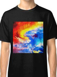 heaven sunset sunrise sky abstract Classic T-Shirt