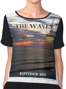 Music cover artwork 'The Waves'. Chiffon Top